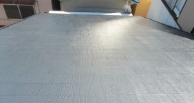 屋根塗装施行事例