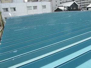 屋根(トタン)塗装施行事例