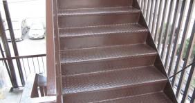 階段塗装施工事例