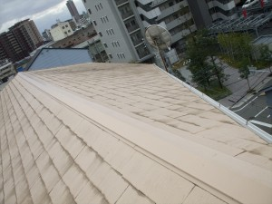 屋根スレート葺替施行事例